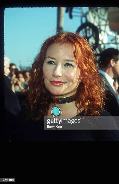 Tori Amos attends the MTV Music Video Awards ceremony September 10 1998 in Los Angeles CA One of several female singer/songwriters to combine...