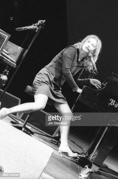 Tori Amos performs at the Greek Theatre in Los Angeles California on June 30 1996