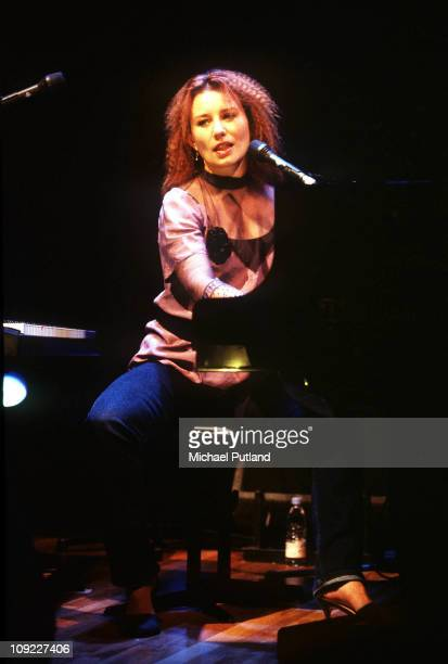 Tori Amos prforms on stage at Royal Festival Hall London 29th October 1999