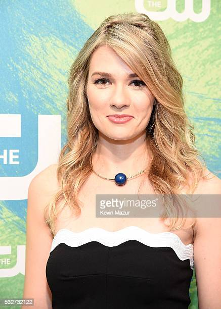 Tori Anderson attends The CW Network's 2016 Upfront at The London Hotel on May 19 2016 in New York City