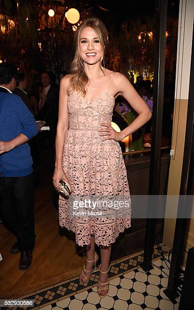Tori Anderson attends The CW Network's 2016 Upfront party at Park Avenue Spring on May 19 2016 in New York City