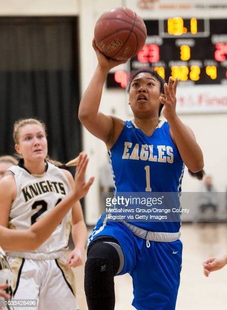 Tori Anderson of Santa Margarita goes up for a basket during a game at Foothhill High School Friday January 8 2016 ///ADDITIONAL INFORMATION...