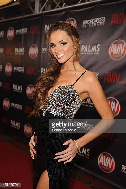 Tori Black arrives at the 2010 AVN Awards at the Pearl at The Palms Casino Resort on January 9 2010 in Las Vegas Nevada
