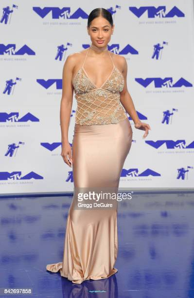 Tori Brixx arrives at the 2017 MTV Video Music Awards at The Forum on August 27 2017 in Inglewood California