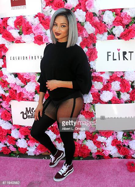 Tori Brixx arrives for the Amber Rose SlutWalk 2016 held at Pershing Square on October 1 2016 in Los Angeles California
