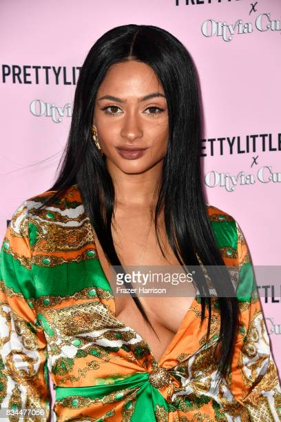 Tori Brixx attends PrettyLittleThing X Olivia Culpo Launch at Liaison Lounge on August 17 2017 in Los Angeles California
