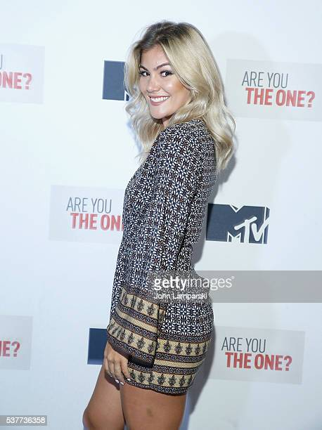 Tori Deal attends Are You The One New York Premiere at 1515 Broadway on June 2 2016 in New York City
