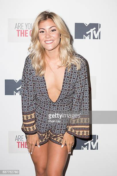 Tori Deal attends the Are You The One New York Premiere at 1515 Broadway on June 2 2016 in New York City