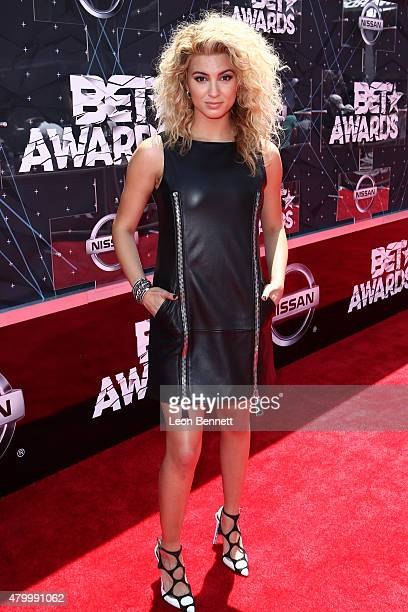 Tori Kelly arrived at the BET Make A Wish Foundation Recipients BET Experience At LA Live Red Carpet arrivals Weekend Events on June 28 2015 in Los...
