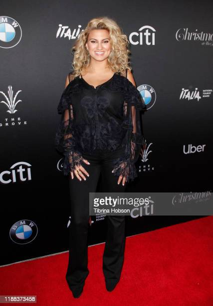 Tori Kelly attends Christmas at The Grove A Festive Tree Lighting celebration at The Grove on November 17 2019 in Los Angeles California