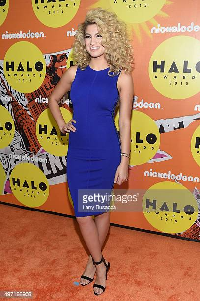 Tori Kelly attends the 2015 Nickelodeon HALO Awards at Pier 36 on November 14 2015 in New York City