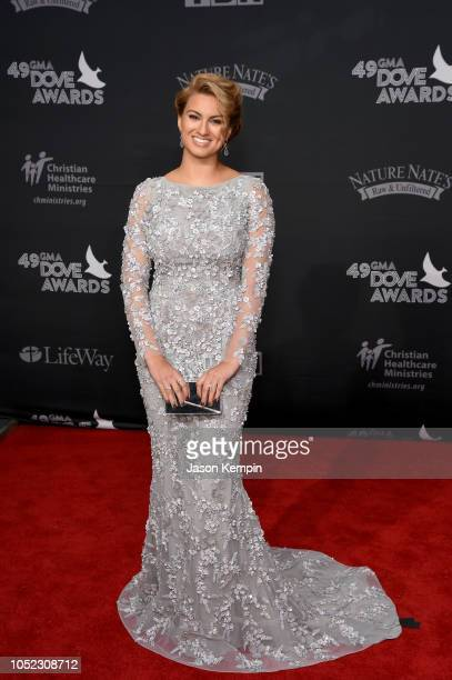 Tori Kelly attends the 49th Annual GMA Dove Awards at Allen Arena, Lipscomb University on October 16, 2018 in Nashville, Tennessee.