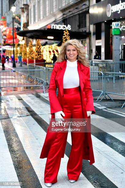 Tori Kelly attends the 94th Annual Macy's Thanksgiving Day Parade® on November 26, 2020 in New York City. The World-Famous Macy's Thanksgiving Day...