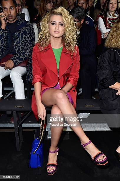 Tori Kelly attends the Lanvin show as part of the Paris Fashion Week Womenswear Spring/Summer 2016 on October 1 2015 in Paris France