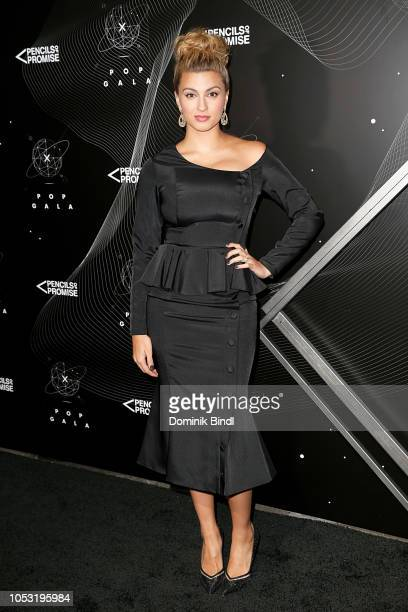 Tori Kelly attends the Pencils of Promise 10th Anniversary Gala at Duggal Greenhouse on October 24 2018 in Brooklyn New York
