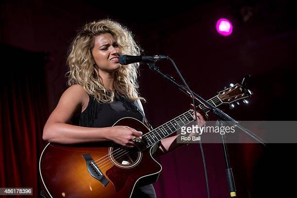 Tori Kelly performs at Bush Hall on September 1 2015 in London England