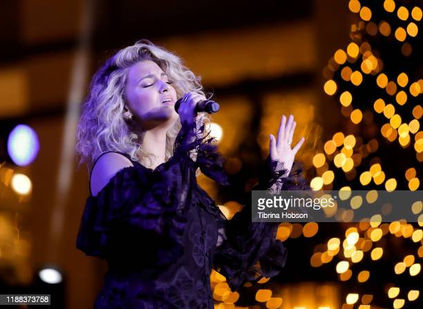 Tori Kelly performs at Christmas at The Grove A Festive Tree Lighting celebration at The Grove on November 17 2019 in Los Angeles California
