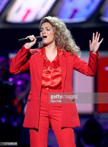 Tori Kelly performs onstage during Motown 60 A GRAMMY Celebration at Microsoft Theater on February 12 2019 in Los Angeles California