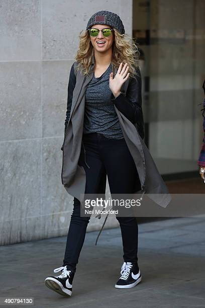 Tori Kelly seen at BBC Radio One on October 1 2015 in London England