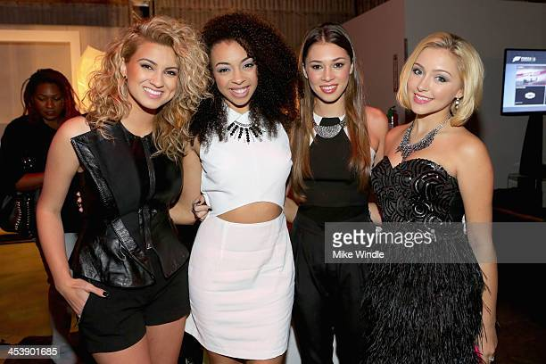Tori Kelly Summer Reign Millie Thrasher and Celine Polenghi of Sweet Suspense attend NYLON McDonald's Dec/Jan issue launch party hosted by cover star...