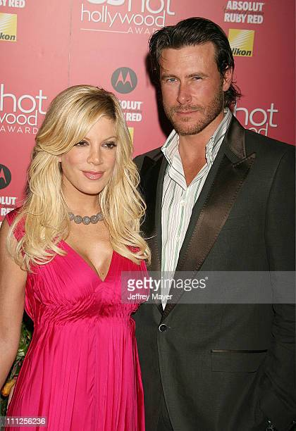 Tori Spelling and Dean McDermott during 2006 US Weekly Hot Hollywood Awards - Arrivals at Republic Restaurant & Lounge in Los Angeles, California,...