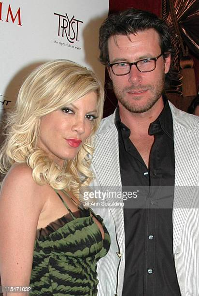 Tori Spelling and Dean McDermott during Maxim Magazine 100th Birthday Celebration - Arrivals at Tryst at Wynn Las Vegas in Las Vegas, Nevada, United...