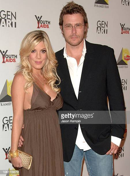 Tori Spelling and Dean McDermott during NYC Party For New Lipton Pyramid Teas - October 4, 2006 at The XCHANGE in New York City, New York, United...