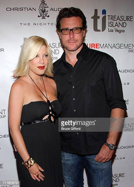 Tori Spelling and Dean McDermott Host an Evening at Christian Audigier Nightclub Las Vegas on August 1, 2008 in Las Vegas, Nevada.