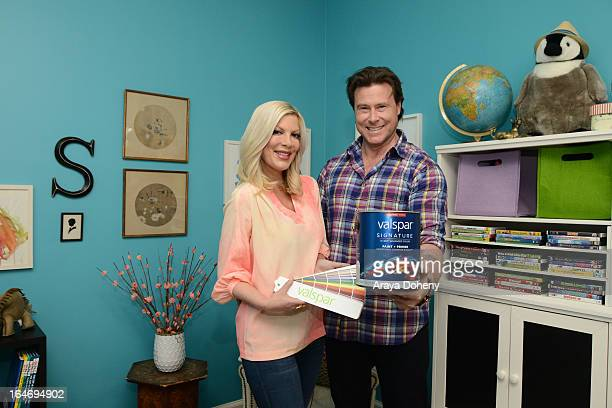 Tori Spelling and Dean McDermott partner with Valspar Paint to launch the Valspar Color Project video series benefitting Habitat for Humanity on...
