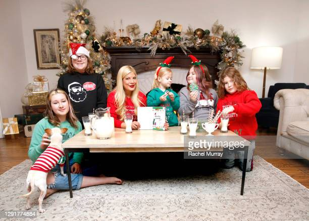 Tori Spelling and family join the California Milk Processor Board in some holiday cheer with the help of #SantasJournal from @gotmilk. The creative...