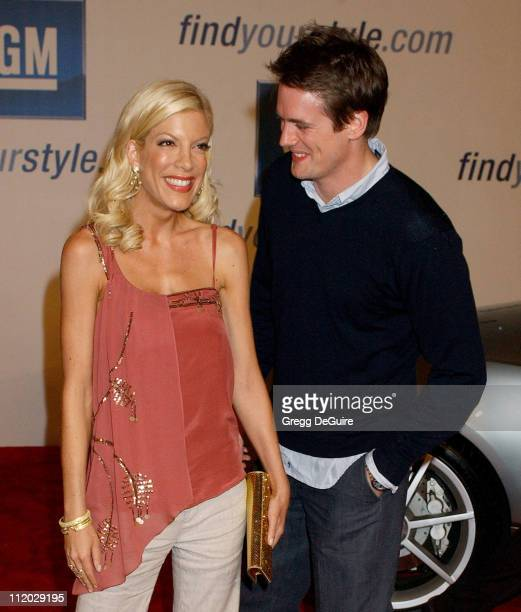 Tori Spelling and guest during 4th Annual 'ten' Fashion Show Presented By General Motors at Pavilion in Hollywood in Hollywood California United...