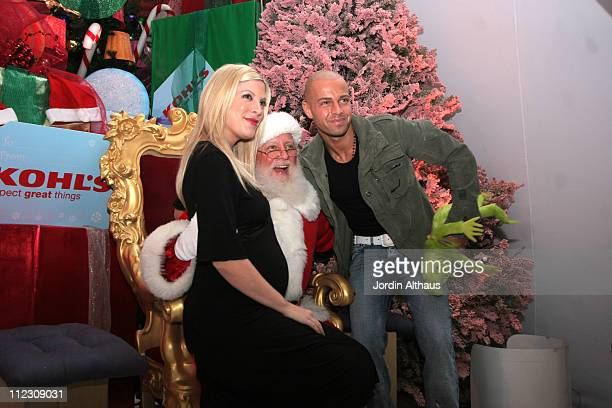 Tori Spelling and Joey Lawrence and Atmosphere during Kohl's Winter Wonderland at Kohl's in Los Angeles California United States