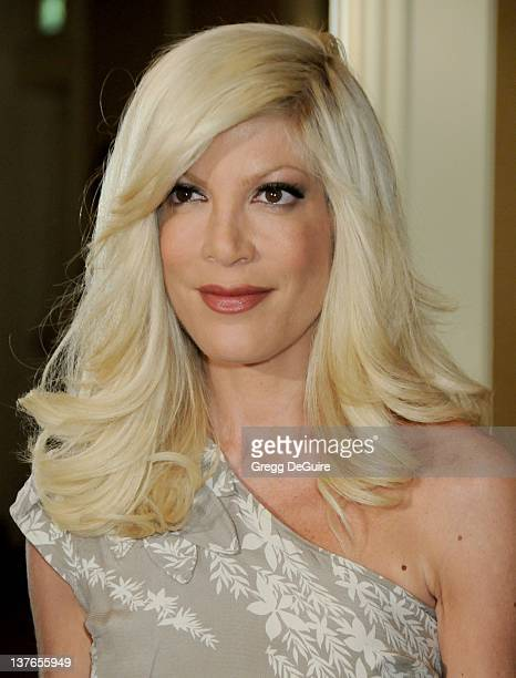 Tori Spelling arrives for Step Up Women's Network 6th Annual Inspiration Awards at the Beverly Wilshire Hotel in Beverly Hills California on June 5...