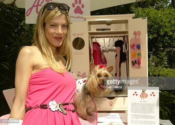 Tori Spelling at Amber's Armoire during 'Silver Spoon Dog and Baby Buffet' Benefitting Much Love Animal Rescue Day One at Private Residence in...