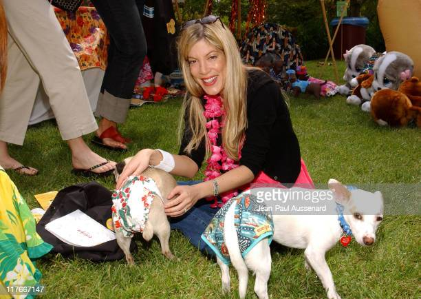 """Tori Spelling at Cocojor during 'Silver Spoon Dog and Baby Buffet"""" Benefitting Much Love Animal Rescue Day One at Private Residence in Beverly Hills..."""