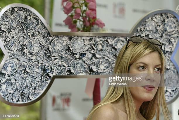 """Tori Spelling at Maven during 'Silver Spoon Dog and Baby Buffet"""" Benefitting Much Love Animal Rescue Day One at Private Residence in Beverly Hills..."""