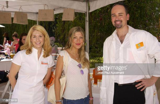 Tori Spelling at md Skin Care during The Silver Spoon Beauty Buffet Sponsored By Allure Day One at Private Residence in Hollywood California United...