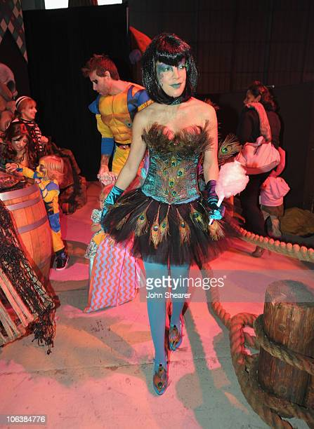 Tori Spelling attends the 17th Annual Dream Halloween at Barker Hangar on October 30 2010 in Santa Monica California