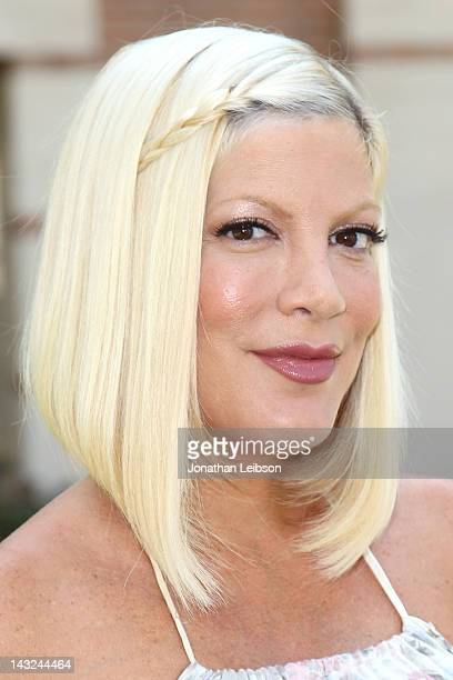 Tori Spelling attends the 17th Annual Los Angeles Times Festival Of Books - Day 1 at USC on April 21, 2012 in Los Angeles, California.