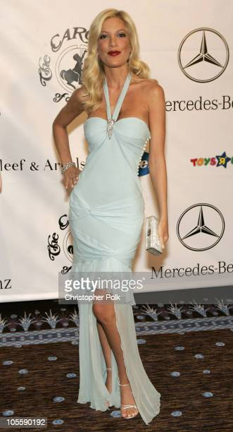 Tori Spelling during 16th Carousel of Hope Benefit Gala Presented by Mercedes Benz VIP Reception at The Beverly Hilton in Beverly Hills California...