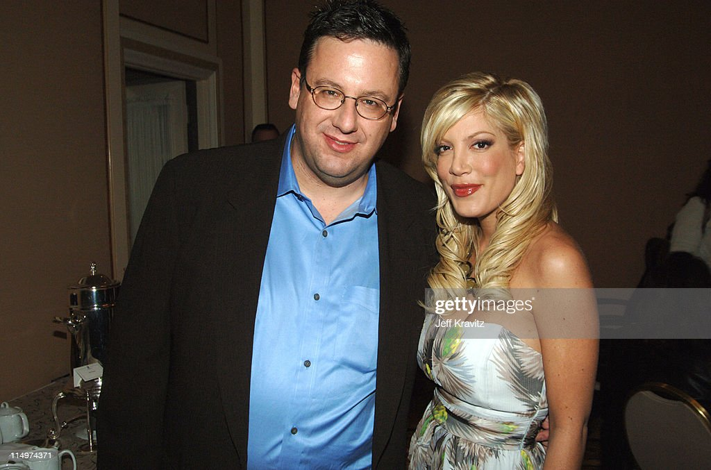Tori Spelling during 2006 TCA MTV Networks - Green Room at Ritz Carlton Hotel, Pavilion Room in Pasadena, California, United States.