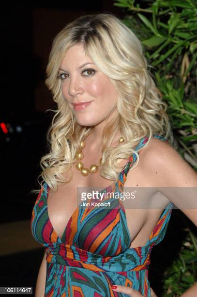 Tori Spelling during AOL Gold Rush Launch Party September 12 2006 at Les Deux in Los Angeles California United States