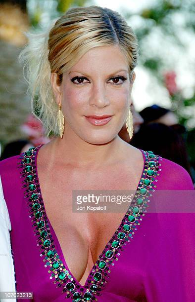 Tori Spelling during Bow Wow Ciao Benefit For Much Love Animal Rescue Arrivals at John Paul DeJoria and Eloise DeJoria Estate in Malibu California...