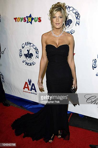 Tori Spelling during Carousel of Hope Benefitingthe Barbara Davis Center For Childhood Diabetes at Beverly Hilton Hotel in Los Angeles CA United...