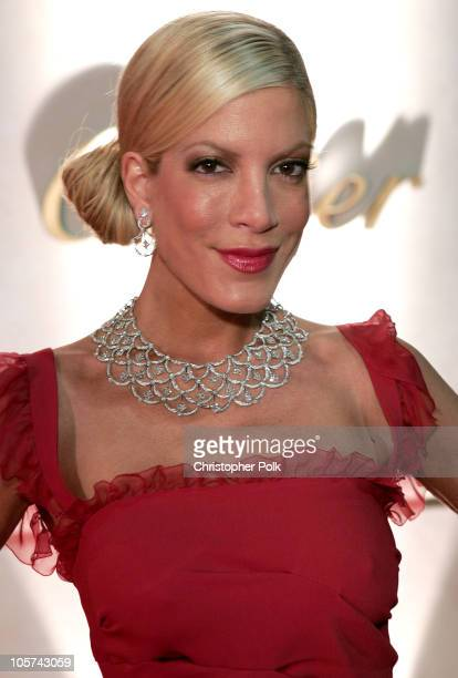 Tori Spelling during Cartier Celebrates 25 Years in Beverly Hills in Honor of Project ALS at Cartier Store in Beverly Hills California United States