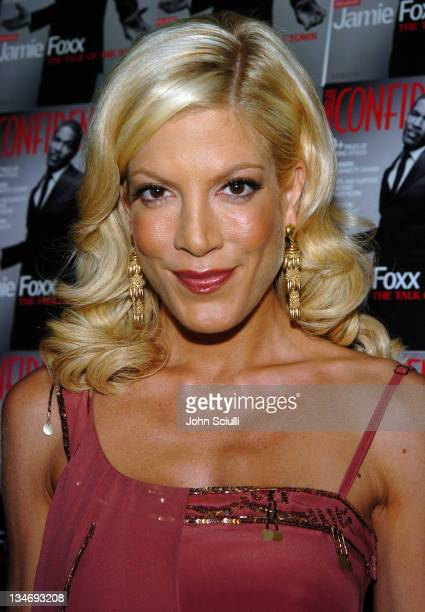 Tori Spelling during LA Confidential Magazine's PreOscar Party at W Hotel Los Angeles Westwood in Los Angeles California United States