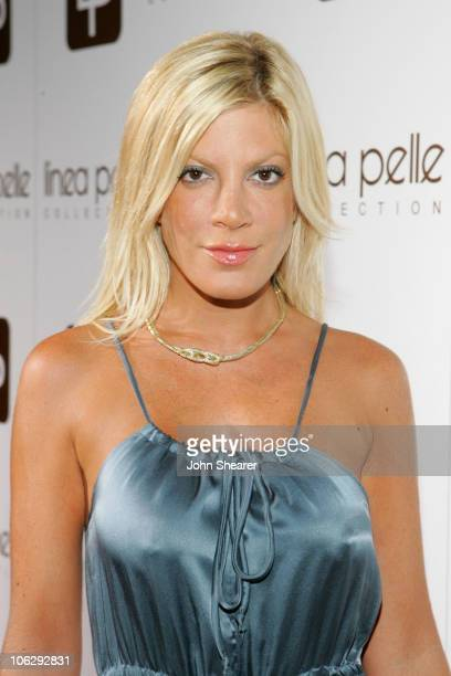 Tori Spelling during Linea Pelle 20th Anniversary Party Red Carpet at Pacific Desgin Center in West Hollywood California United States