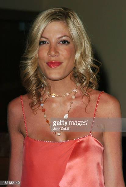 Tori Spelling during Maxim Magazine Hot 100 Party in Celebration of the Grand Opening of Body English In the Hard Rock Hotel Casino Red Carpet at...