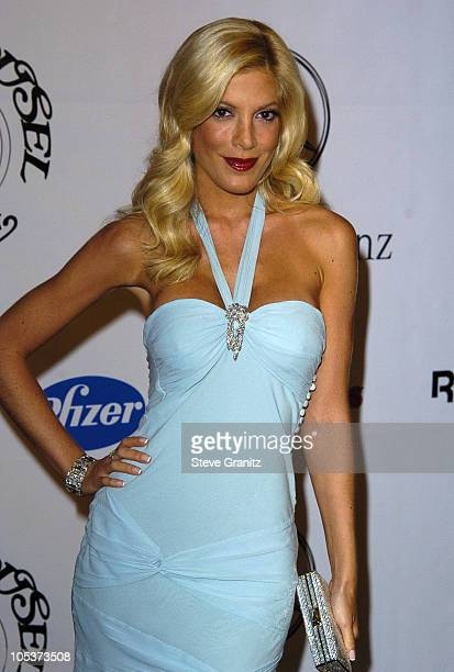 Tori Spelling during Mercedes Benz Presents the 16th Annual Carousel Of Hope Gala VIP Reception at Beverly Hilton Hotel in Beverly Hills California...
