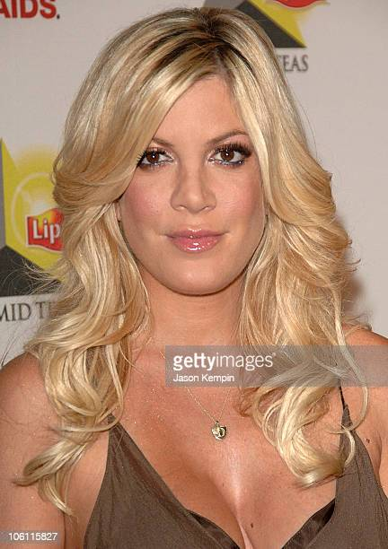 Tori Spelling during NYC Party For New Lipton Pyramid Teas October 4 2006 at The XCHANGE in New York City New York United States